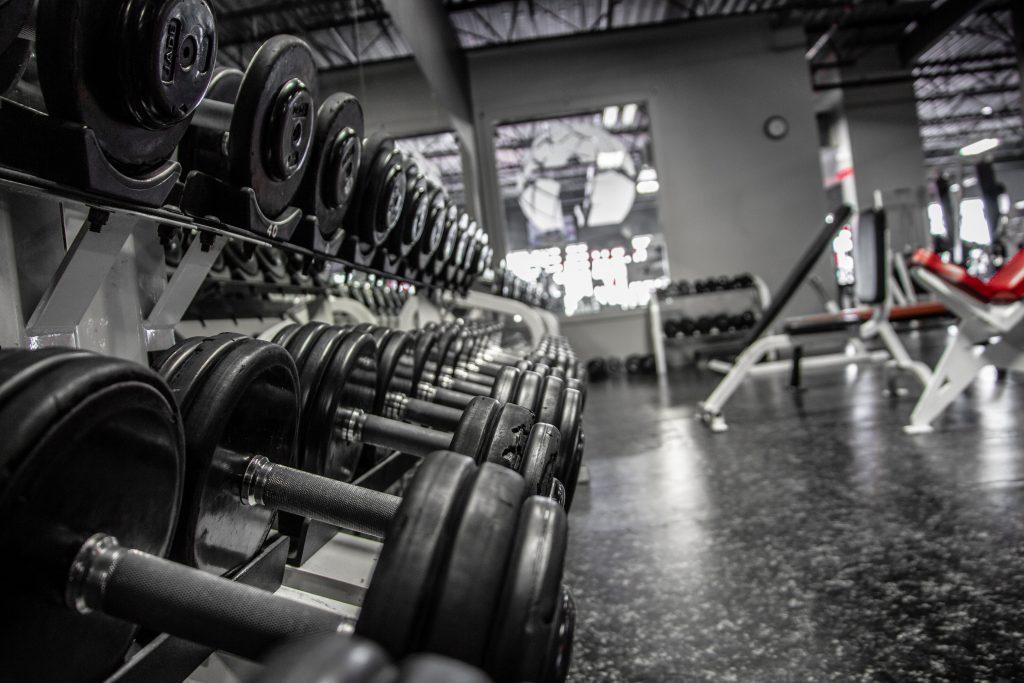 Abonnement au gym, haltères, Mirabel