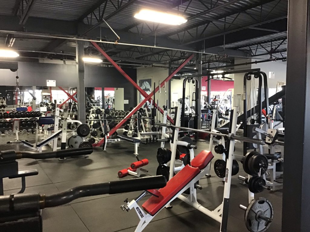 Gym salle d'entrainement Mirabel